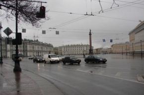 В Петербурге сегодня пасмурно