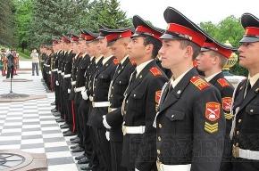Петергофские ребята попрощались с кадетством