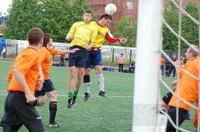 Финал футбольного кубка Пушкинского района был драматичен
