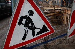 На КАД ремонтные работы ограничат движение