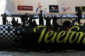 Яхты  Volvo Ocean Race появились у Петропавловки