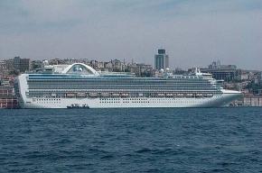 Круизный лайнер привез в Петербург «свиной грипп»?