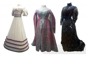 В Павловске открылась выставка царского платья