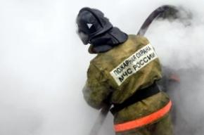 В Колпино горящая коляска заблокировала выход из дома