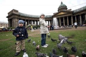 Сквер у Казанского собора: лежачих мест не будет