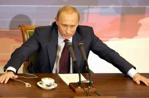 Путин, вероятно, появится в Пикалево сегодня