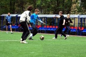 В Невском районе любители открывают футбольный турнир