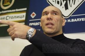 Валуев не будет драться с Кличко-младшим в июне