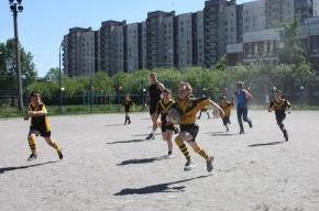 Петербургские школьники полюбили регбилиг