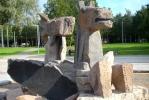 Фоторепортаж: «В Приморском районе появился Крылатый морской конь»