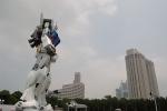 Фоторепортаж: «Робот высотой с семиэтажный дом поселился в центре Токио»
