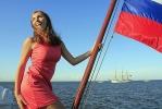 Капитан норвежского парусника «Кристиан Радик» очарован Петербургом: Фоторепортаж