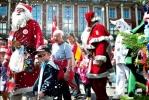 В Копенгагене проходит Всемирный Конгресс Санта-Клаусов: Фоторепортаж