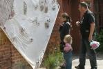 В Кронштадте почистили Летний сад и сделали из мусора Мусоргского: Фоторепортаж