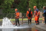 Вчера на набережной Мойки из-под земли бил фонтан: Фоторепортаж