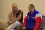 Николай Валуев побывал в больнице: Фоторепортаж