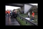 В Германии 259 машин столкнулись на одной трассе: Фоторепортаж