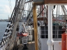 Регата: В Польше паруса «Седова» сожгли «китайским фонариком»: Фоторепортаж