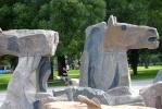 В Приморском районе появился Крылатый морской конь: Фоторепортаж