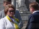 Фоторепортаж: «Участники регаты прорвались на сцену, на которой выступал премьер Путин»