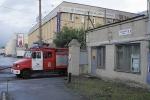 Огонь полностью уничтожил ангар на Литовской улице: Фоторепортаж