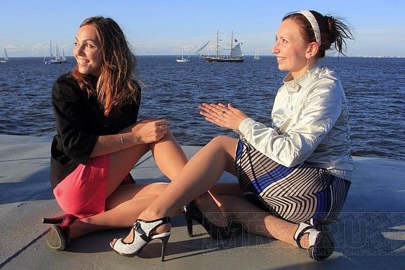 Капитан норвежского парусника «Кристиан Радик» очарован Петербургом: Фото
