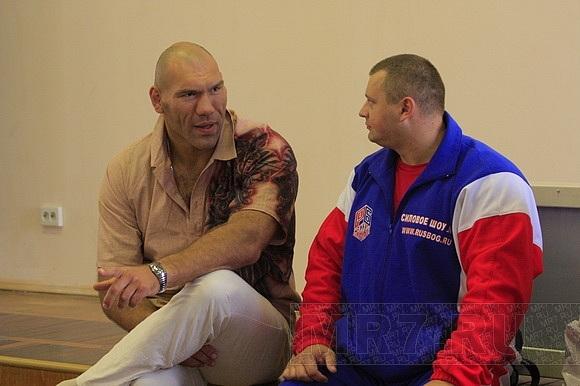 Николай Валуев побывал в больнице: Фото