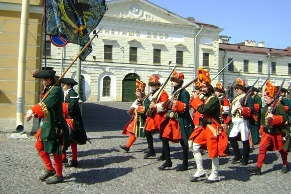 Петербург отпраздновал 300-летие Полтавской битвы: Фото
