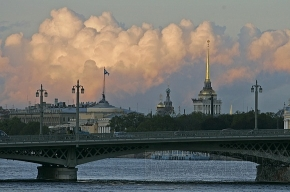 Петербургская погода в понедельник