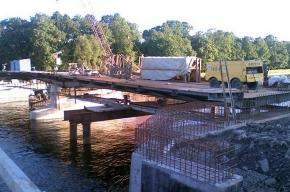 Третий мост на Елагин остров закрыт