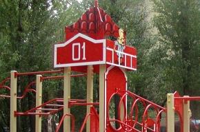 Для детей строят тематические игровые площадки