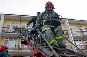 Горели балконы и детская коляска