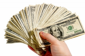 Пересчет денег успокаивает и поднимает настроение