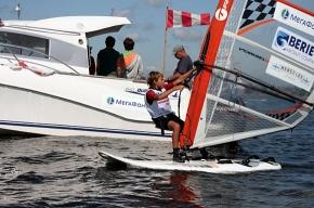 В Петербурге прошел детский Кубок Балтийского Моря по виндсерфингу