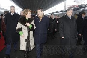 Матвиенко убедилась, что «Сапсан» приспособлен под российские стандарты