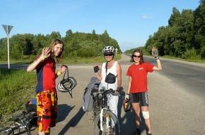 Слабовидящие на велотандемах уедут из Петербурга в Финляндию