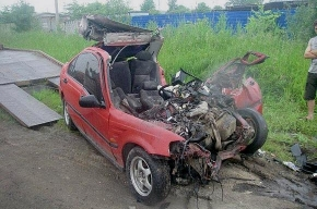 Трагедия на шоссе в Стрельне была самоубийством
