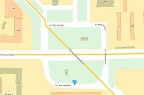На площади Конституции ремонт дороги передвинет привычный маршрут транспорта