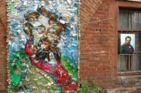 В Кронштадте почистили Летний сад и сделали из мусора Мусоргского