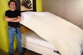 Изобретена самозастилающаяся кровать