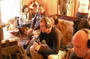 Антон Сиверс снимает «Вербное воскресенье»