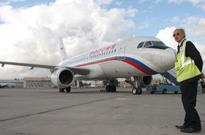 В «Пулково» аэробус А-320 сел на хвост
