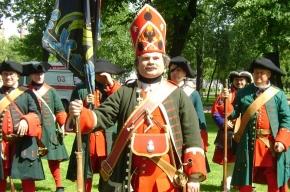 Петербург отпраздновал 300-летие Полтавской битвы