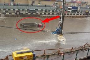Потоп в Москве вызвал транспортный коллапс