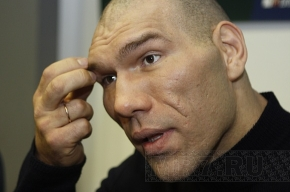 Николай Валуев не может стать талисманом «Зенита»