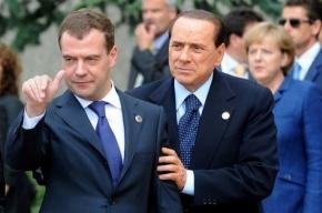 На саммите Медведева опозорили папарацци