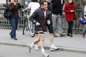 Николя Саркози госпитализировали после пробежки