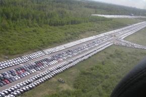 Аэродром «Ржевка» превратился в автостоянку