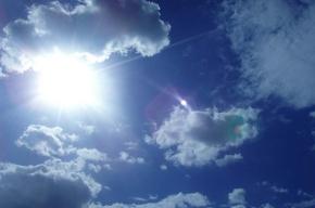 В Петербурге сегодня солнечно