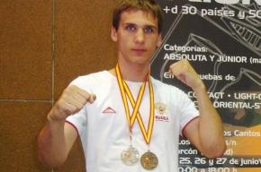 Колпинец завоевал три медали на чемпионате мира по кикбоксингу
